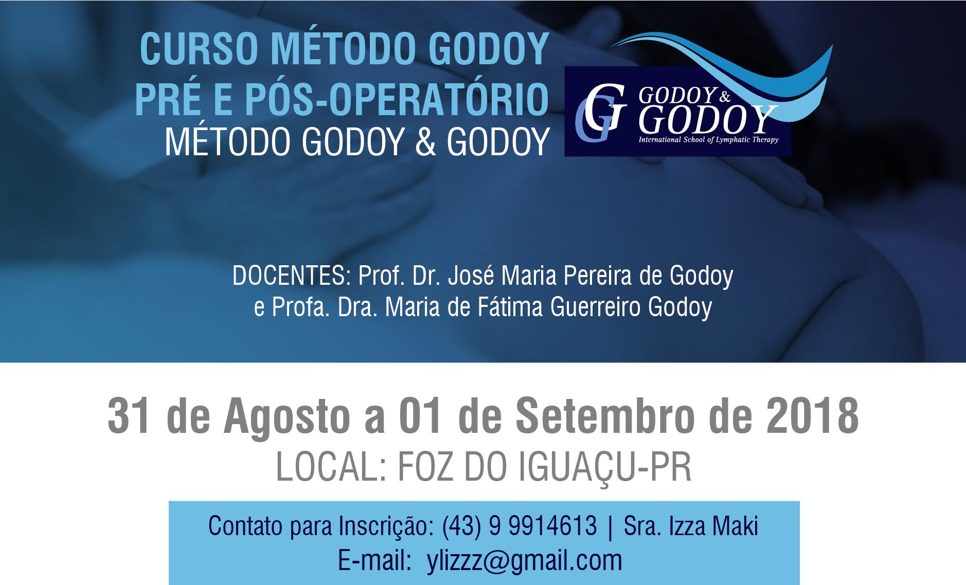 Método Godoy  Pré e Pós-Operatório