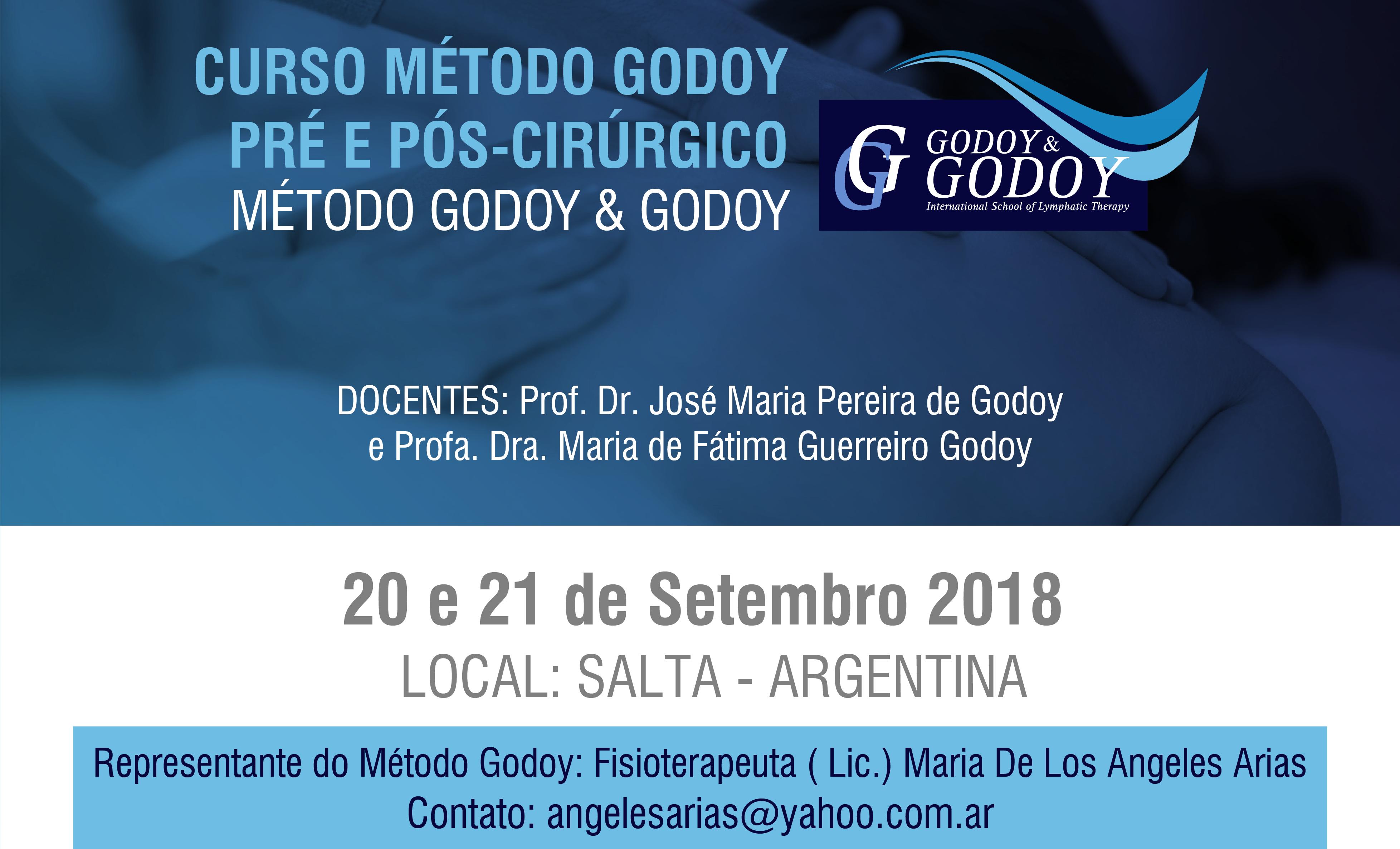 Curso Método Godoy pré e pós-cirúrgico