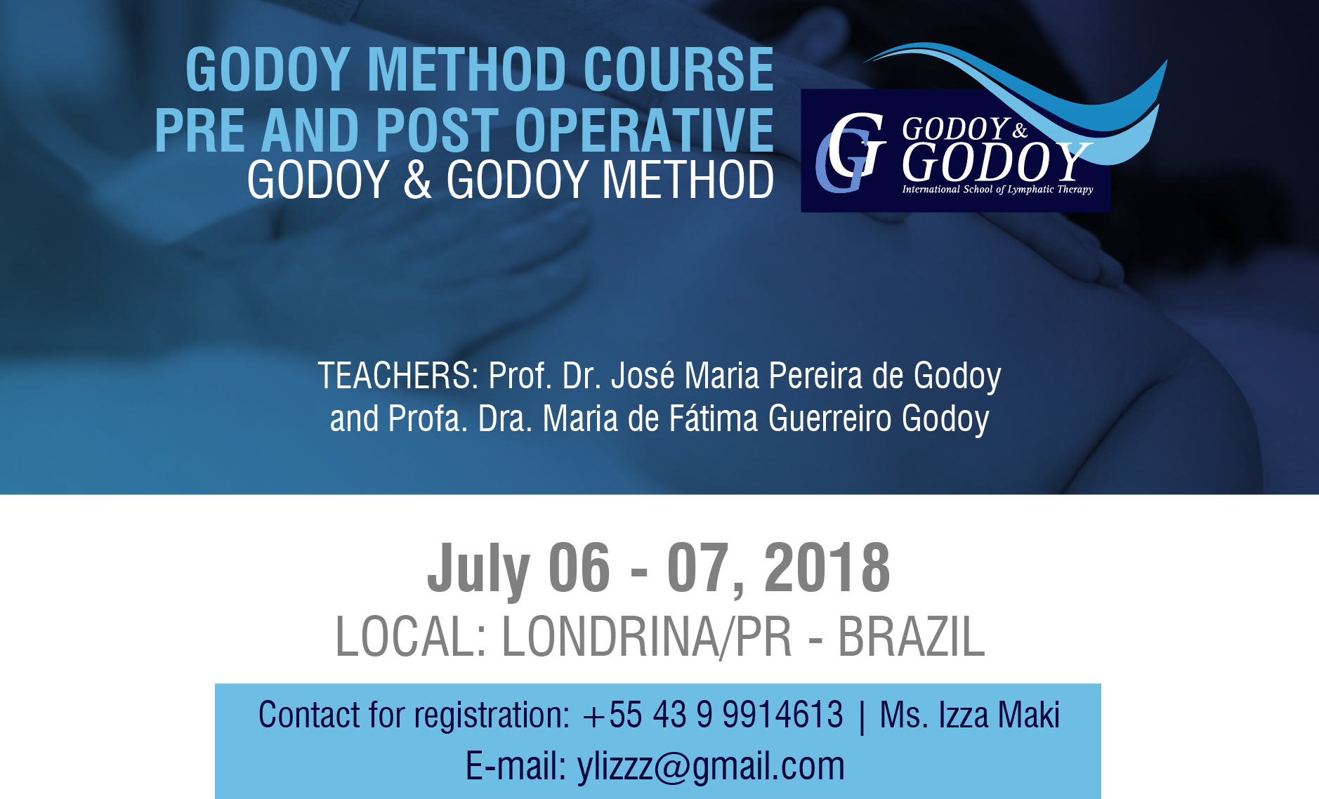 Godoy Method Course PRE AND POST OPERATIVE