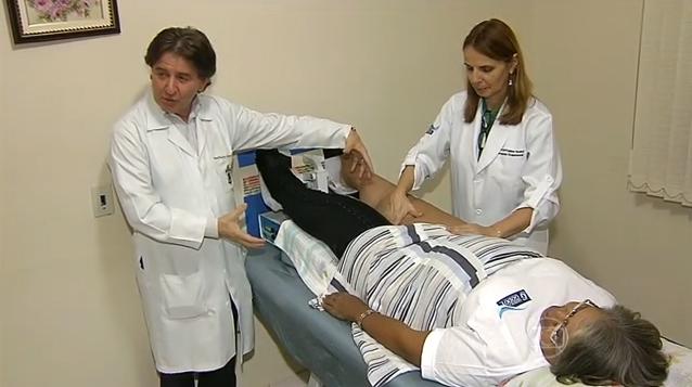 Linfedema tratamiento en el estadio clínico I Método Godoy: hinchazón en la pierna